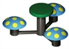Image of 3 Seat Mushroom Table